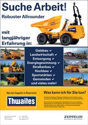 Thwaites-Suche-Arbeit
